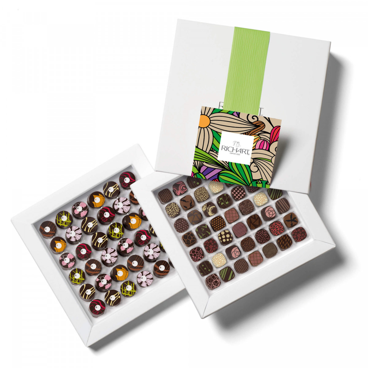 Splendor Box of 85 filled chocolates
