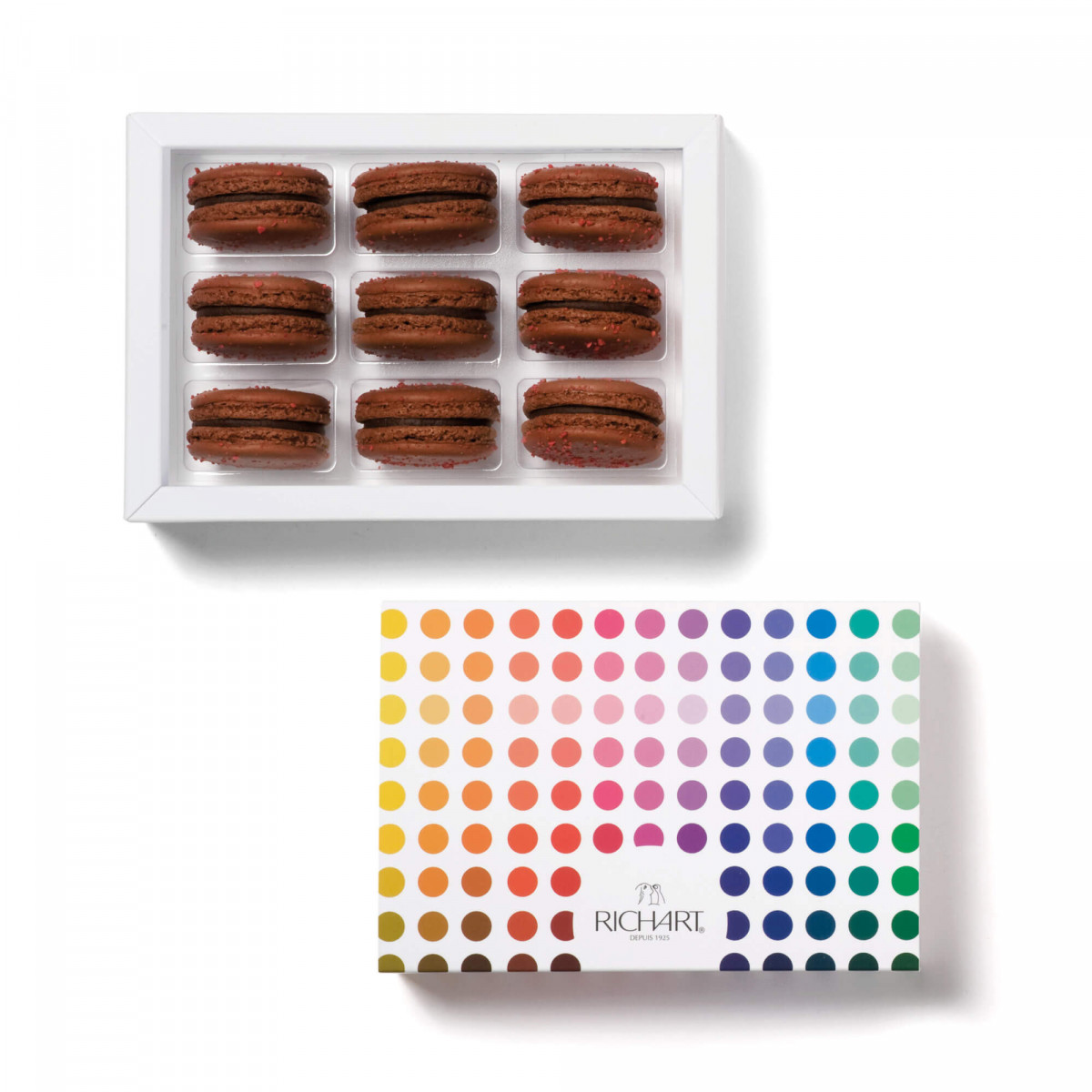 Sambiraja Box of 9 French macarons