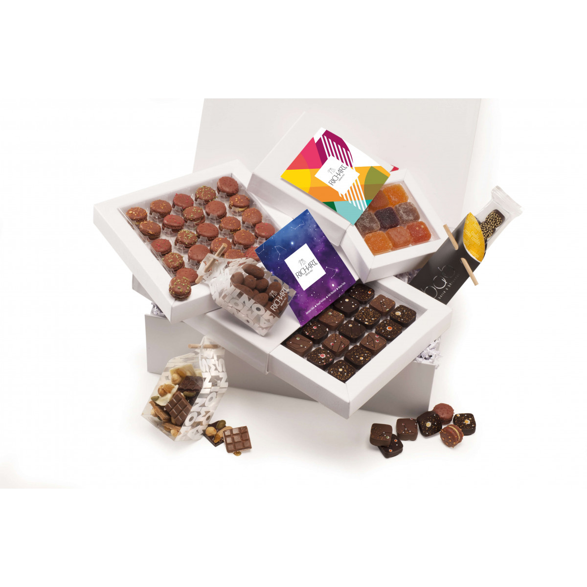 Constellations - Holiday Chocolate gift basket - large
