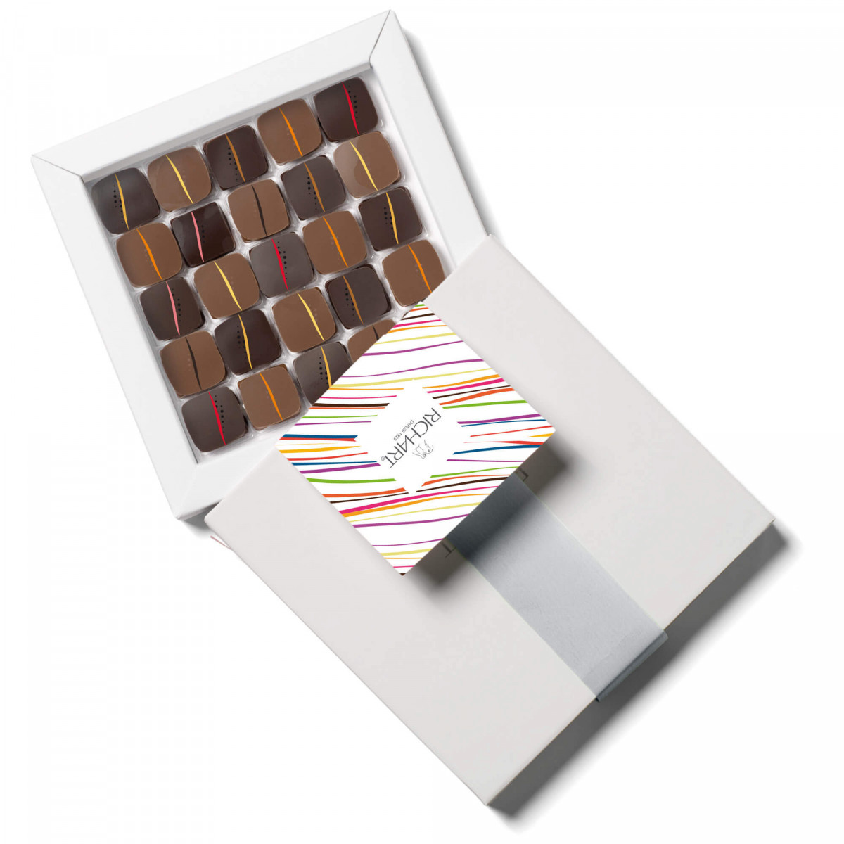 Rendez-Vous Box of 25 filled chocolates