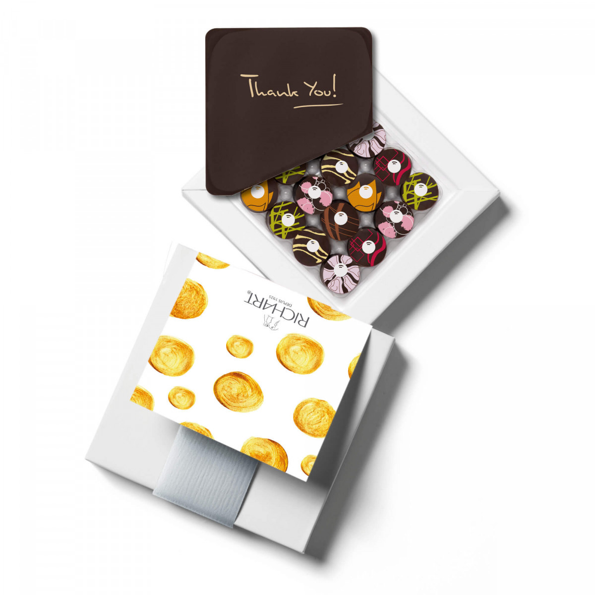 Infuze Thank You Box of 16 filled chocolates