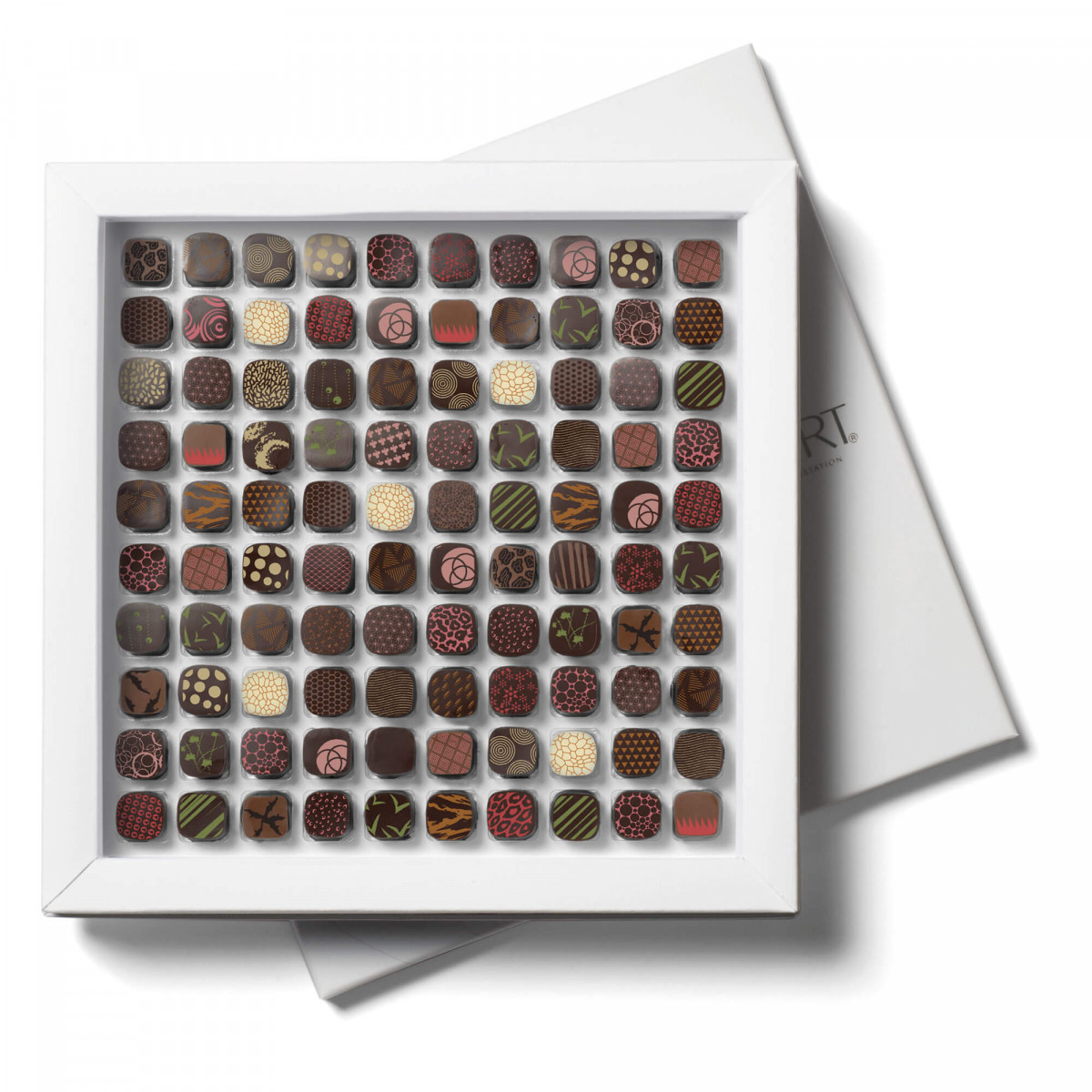 Petits RICHART Extase Box of 100 filled chocolates