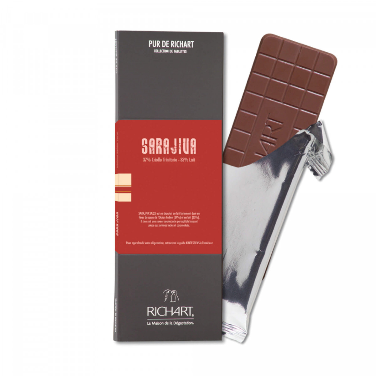 Sarajiva 37 Milk Chocolate Bar