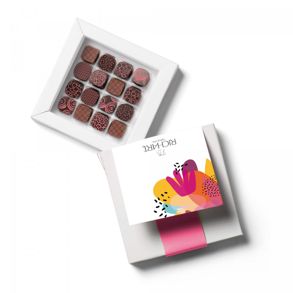 Petits RICHART Fruity Box of 16 filled chocolates