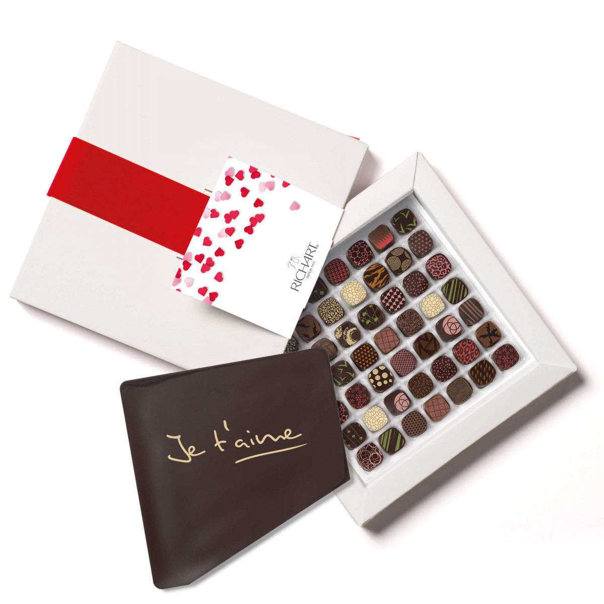 Petits RICHART Intense I love you Box of 49 filled chocolates