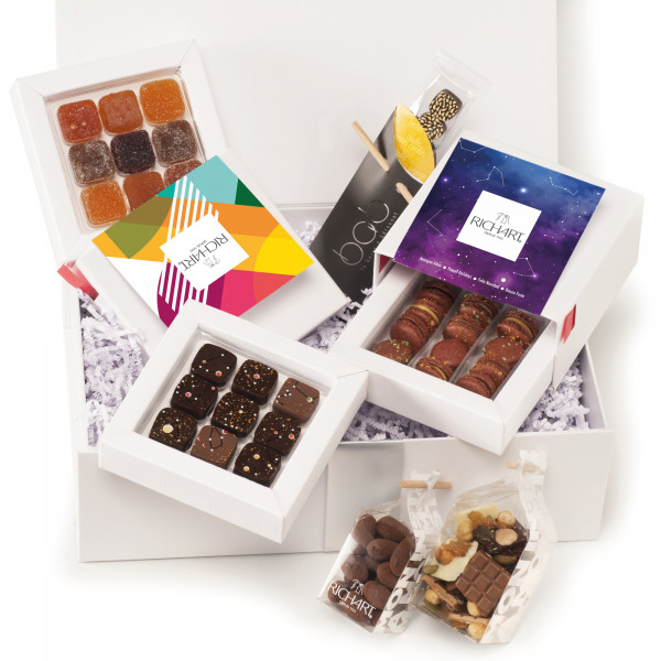 Constellations - Holiday Chocolate gift basket - small