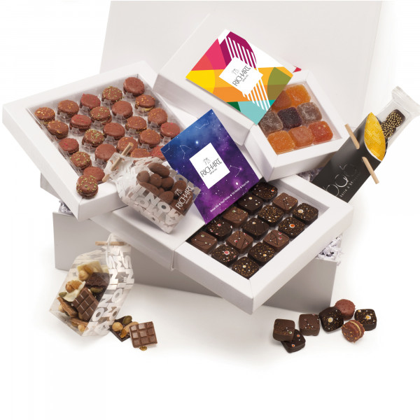 Constellations - Holiday Chocolate gift basket
