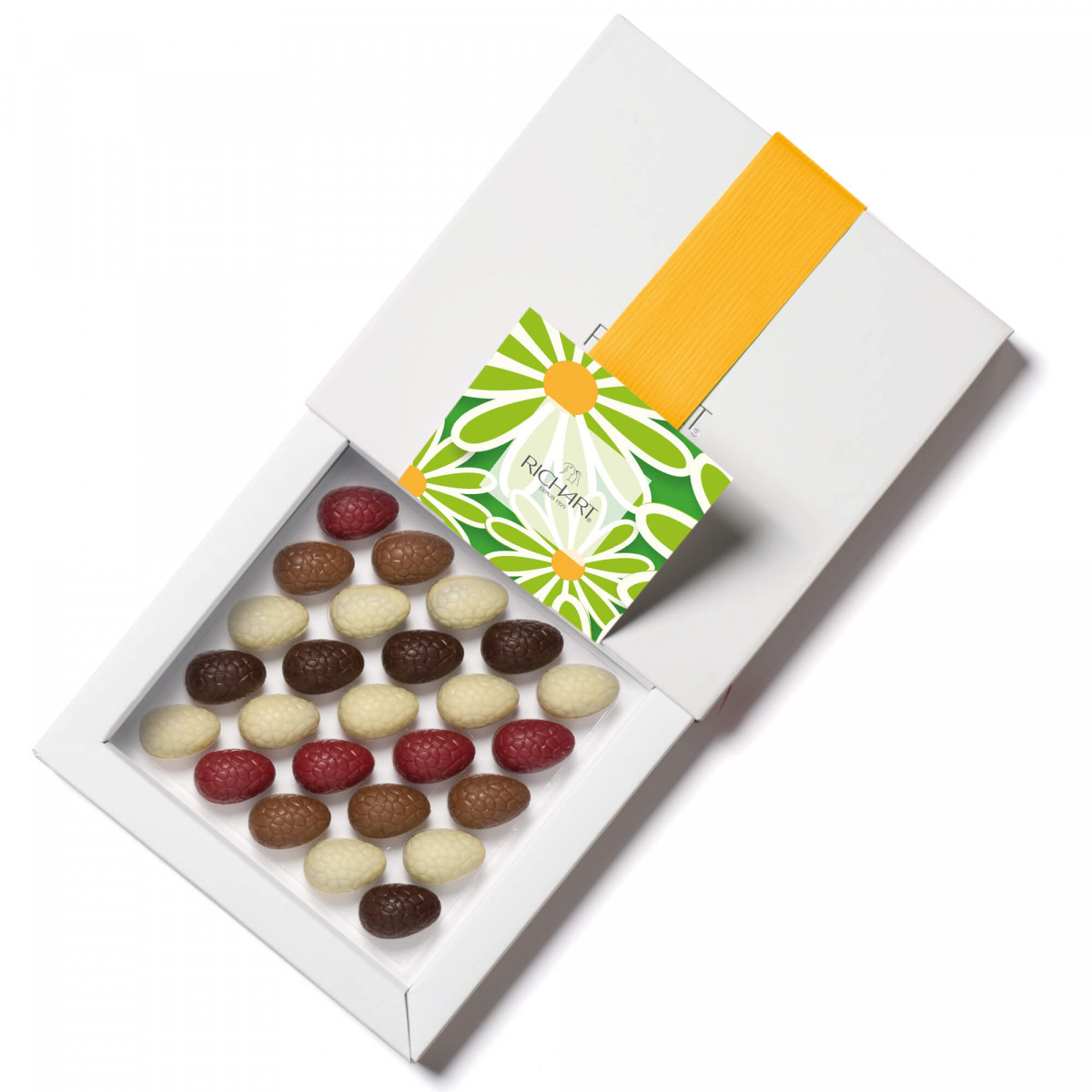 Picoti - box of25 filled chocolate Easter eggs - RICHART Chocolates