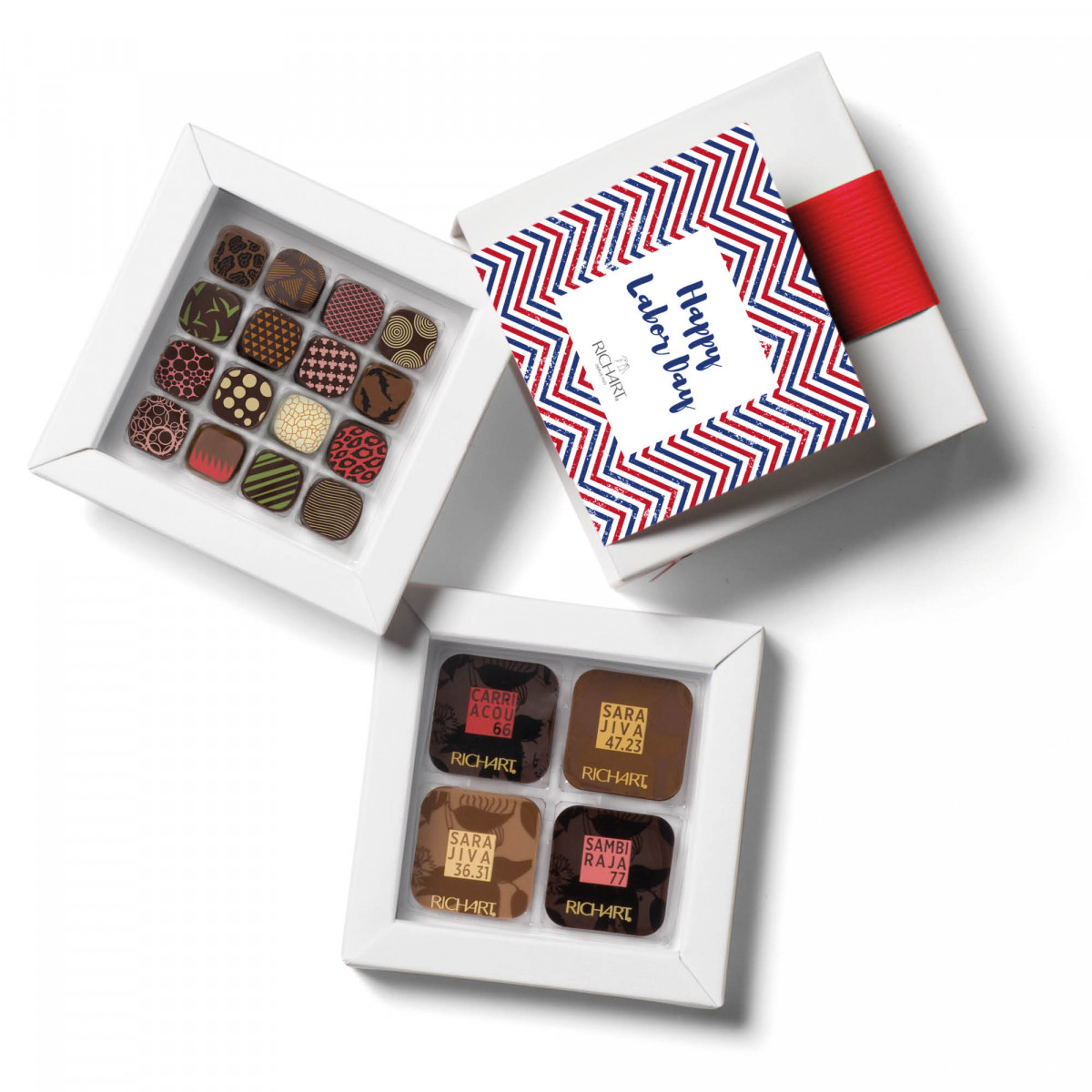 Initiation Box of 32 chocolates