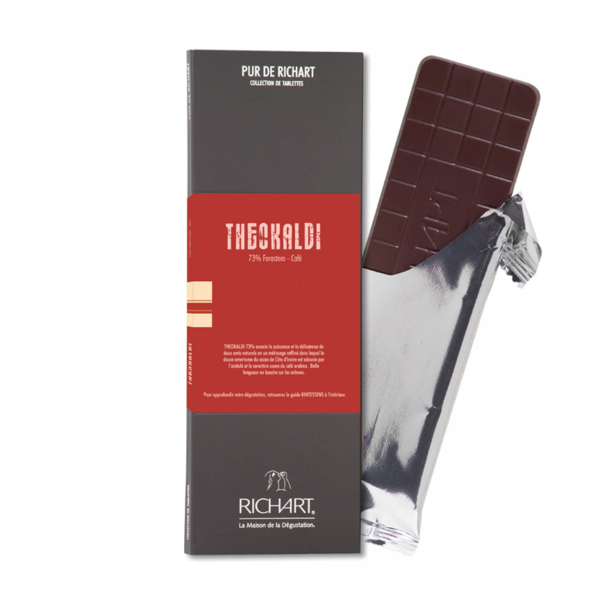 Theokaldi Dark chocolate bar with coffee